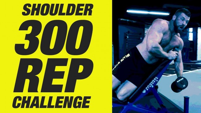 Blue Star Nutraceuticals - P.P.K.™ 300 Rep Delt Workout Challenge